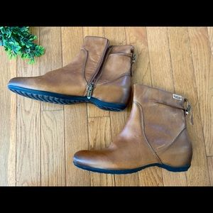 Pikolinos Women Ankle Boots SZ 9 leather Brown
